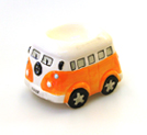 VW CAMPER VAN CERAMIC EGG CUP ORANGE