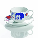 Betty Boop Fine Bone China Tea Cup & Saucer Set